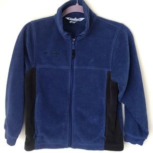 Columbia Blue Fleece Jacket-10/12